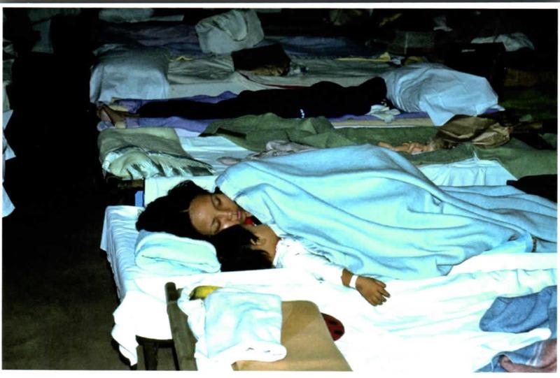 Sleeping Vietnamese immigrants<br />