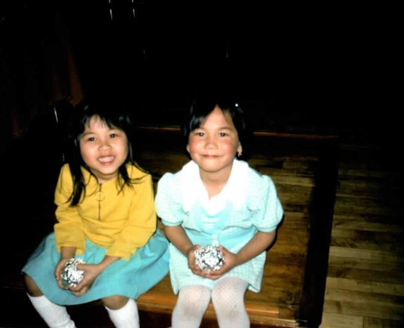 Two Vietnamese children