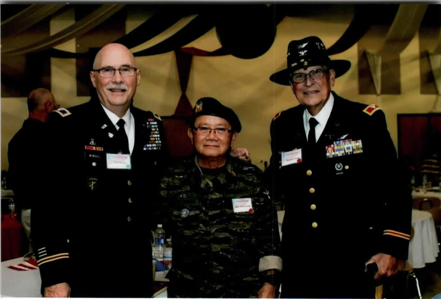 """Photo with Col. Windy Robert and Col. Hert Hirst"""