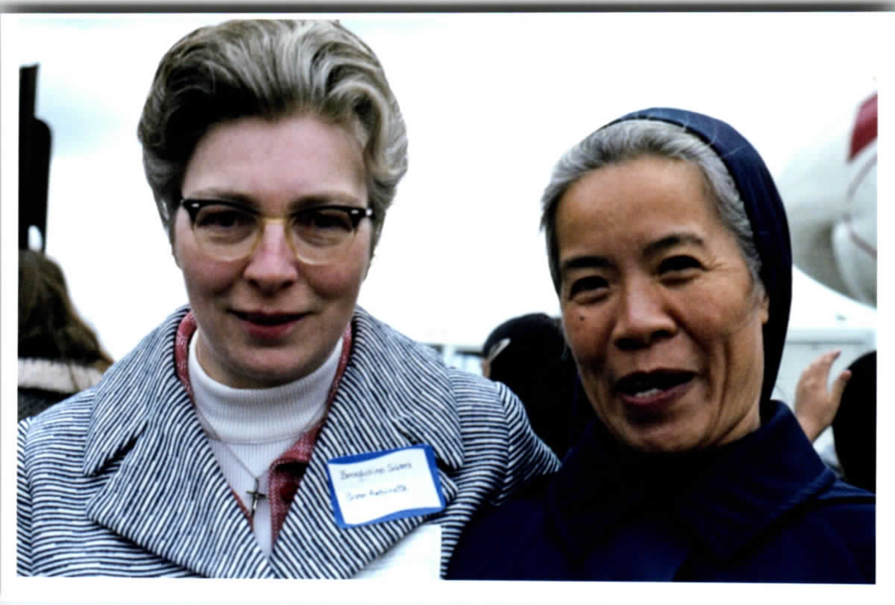 Sr. Antoinette and one of the Vietnamese Sisters