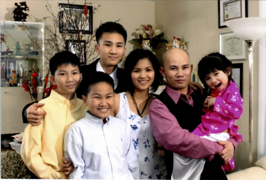 Family of William Vuong