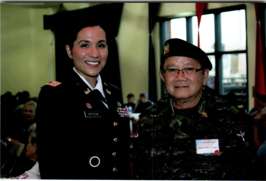 """Photo with Captain Ortega"""