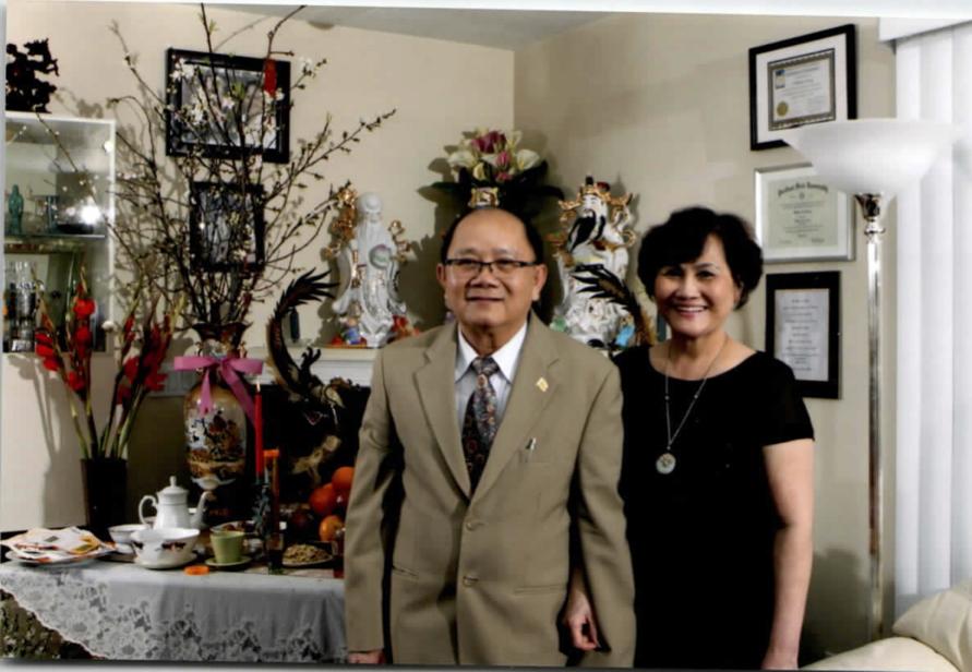 William Vuong and Luu Christina
